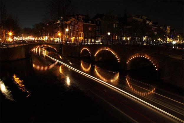 Bridge of 15 Bridges или Мост 15 мостов в Амстердаме - интересные факты 1