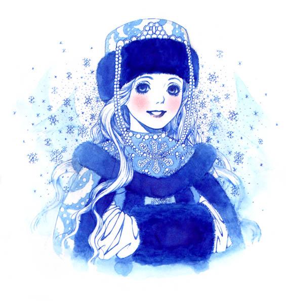 Дед Мороз и Снегурочка красивые картинки - подборка для детей 10