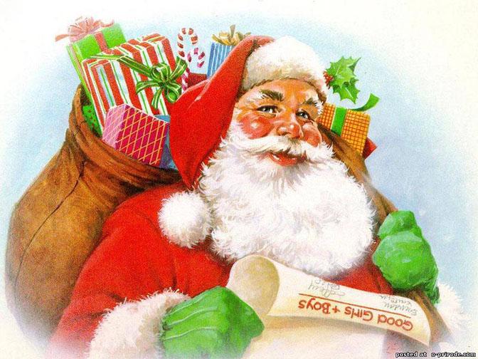 Дед Мороз и Снегурочка красивые картинки - подборка для детей 6