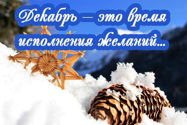 сделала картинки про декабрь прикольные поздравление подчеркивает