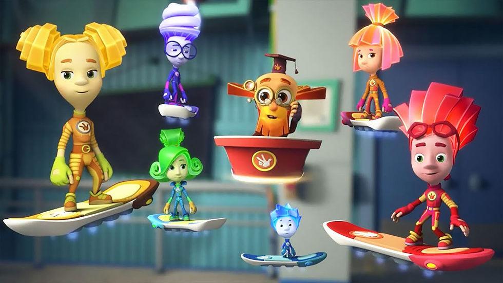 Детские картинки из мультфильмов - самые красивые и прикольные 1