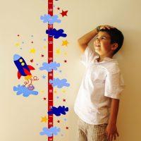 Детский ростомер на стену своими руками - какие бывают, как сделать 1