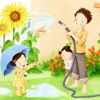 Картинки и рисунок на тему Как я провел лето - красивые и интересные 12