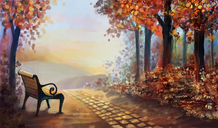 Картинки на тему Осень золотая - для детей, самые красивые и прикольные 10