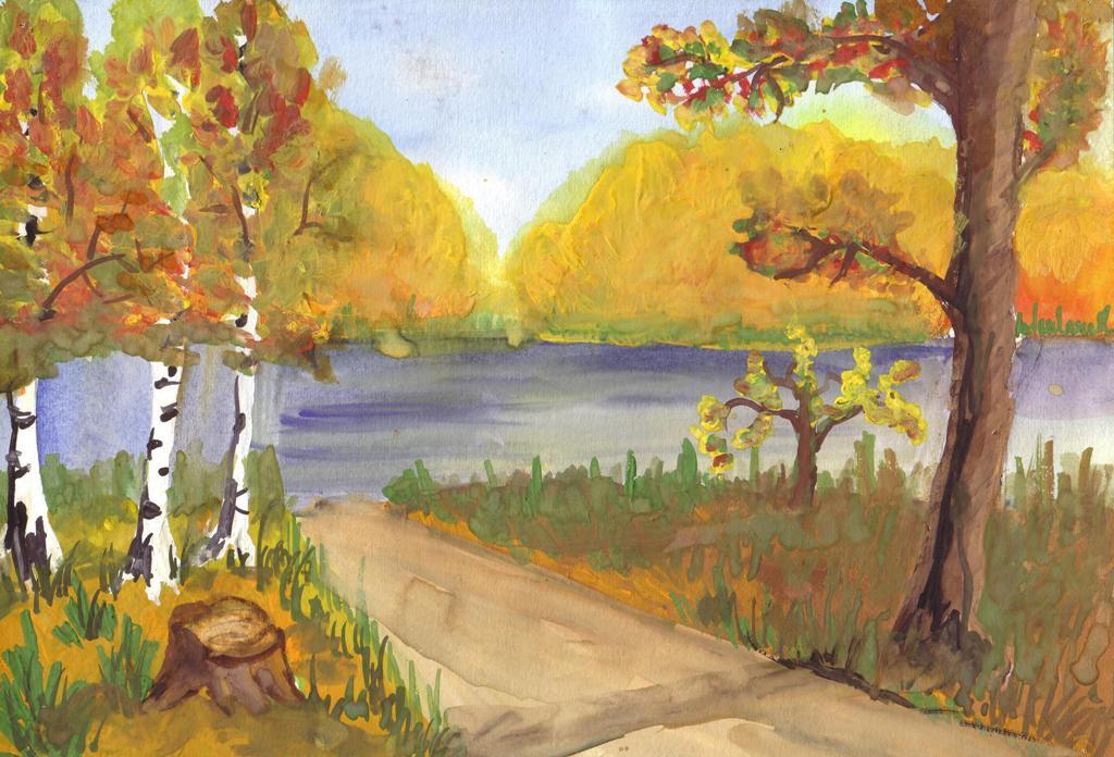 Картинки на тему Осень золотая - для детей, самые красивые и прикольные 8