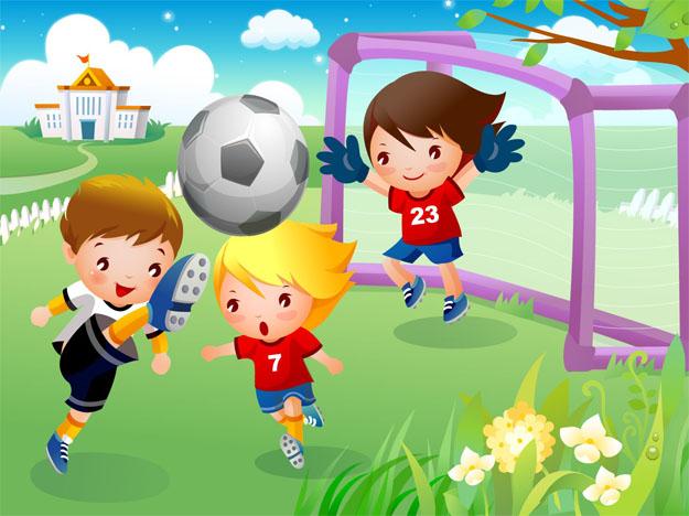 Картинки на тему спорт для детей - прикольные, красивые и интересные 3