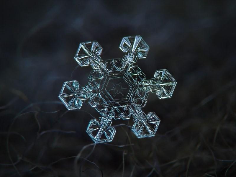 Макрофотография снежинок - самые удивительные и невероятные фото 4