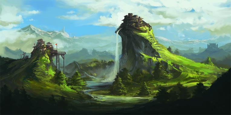 Наш волшебный зеленый дом картинки и рисунки - красивые и удивительные 10