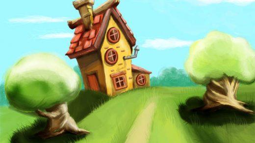 Наш волшебный зеленый дом картинки и рисунки - красивые и удивительные 12