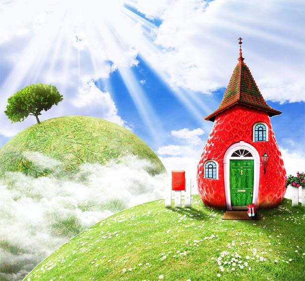 Наш волшебный зеленый дом картинки и рисунки - красивые и удивительные 2