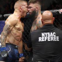 Трое бойцов лишились чемпионских поясов на турнире UFC 217 1