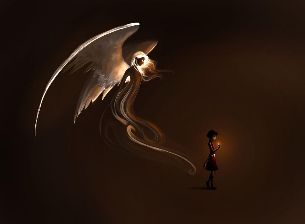 Фото и картинки ангелов на аву, аватарку - самые красивые и интересные 14
