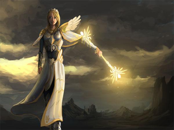 Фото и картинки ангелов на аву, аватарку - самые красивые и интересные 15