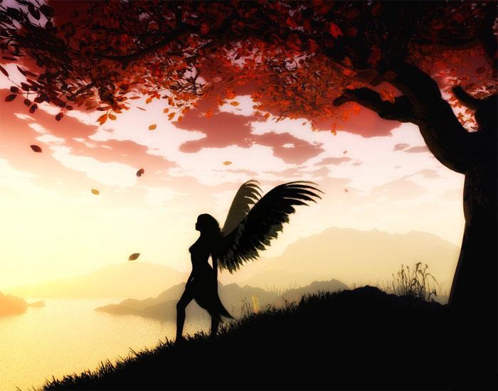 Фото и картинки ангелов на аву, аватарку - самые красивые и интересные 16