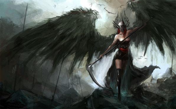 Фото и картинки ангелов на аву, аватарку - самые красивые и интересные 8