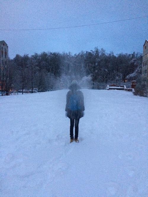 Девушка зимой картинки на аву - самые прикольные и красивые 1