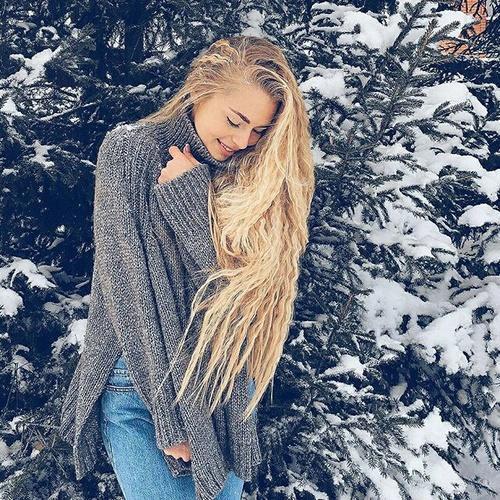 Девушка зимой картинки на аву - самые прикольные и красивые 14