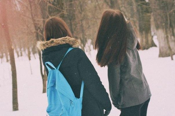 Девушка зимой картинки на аву - самые прикольные и красивые 17