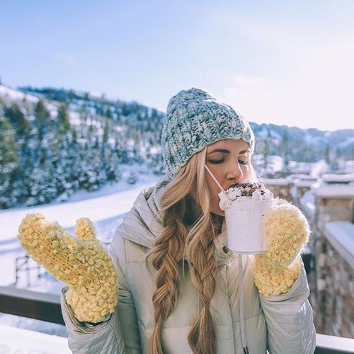 Девушка зимой картинки на аву - самые прикольные и красивые 18