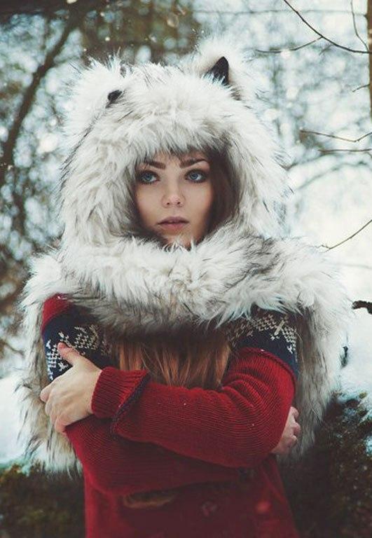 Девушка зимой картинки на аву - самые прикольные и красивые 19