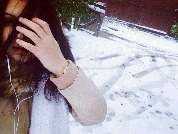 Девушка зимой картинки на аву - самые прикольные и красивые 2