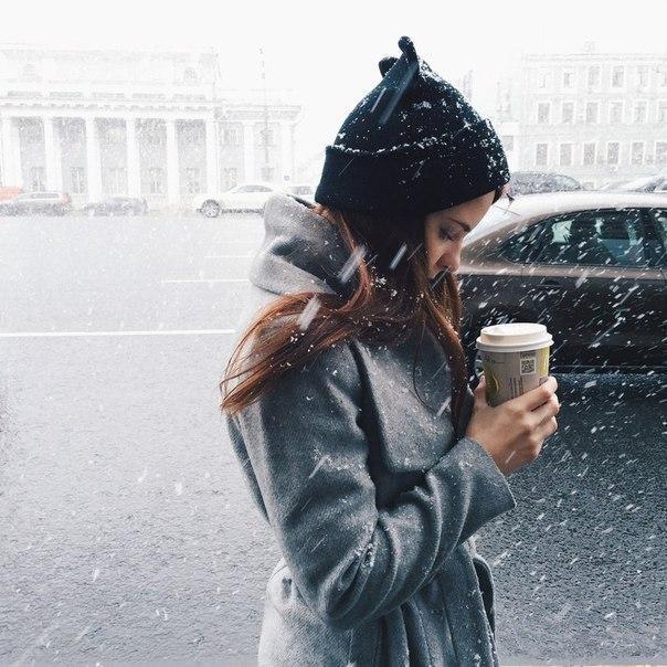 Девушка зимой картинки на аву - самые прикольные и красивые 3
