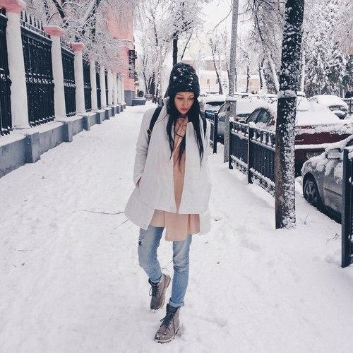 Девушка зимой картинки на аву - самые прикольные и красивые 8