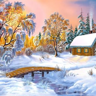 Зимняя сказка картинки красивые и прикольные - интересная коллекция 9