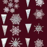 Как сделать снежинку из бумаги своими руками - лучшие схемы и варианты 3