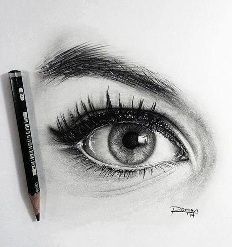 Картинки для срисовки глаза девушек и парней - красивые и прикольные 10