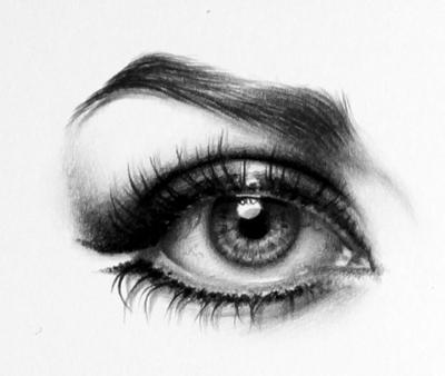 Картинки для срисовки глаза девушек и парней - красивые и прикольные 7