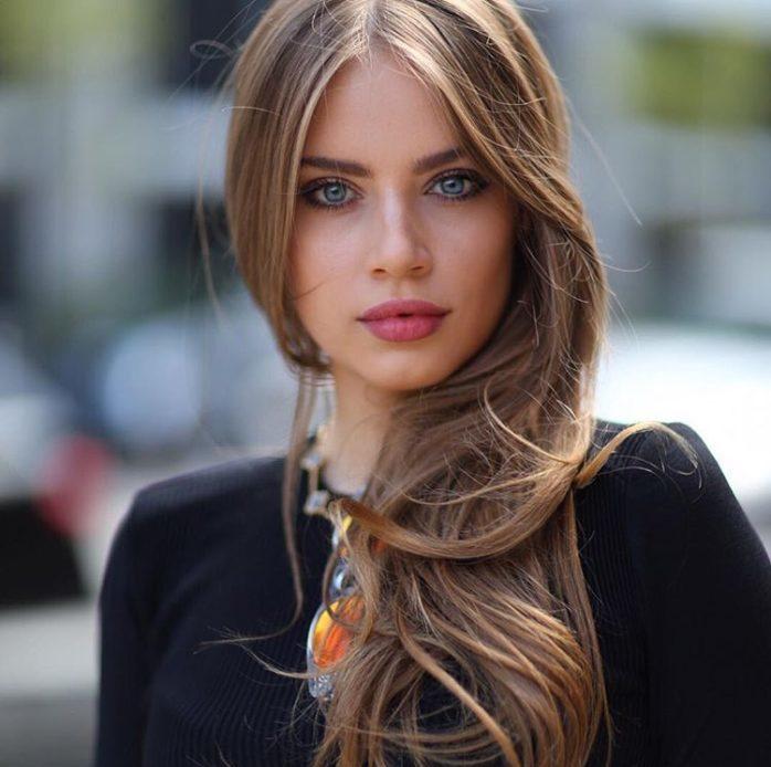 Красивые и интересные фотографии девушек - милые и прекрасные №5 8