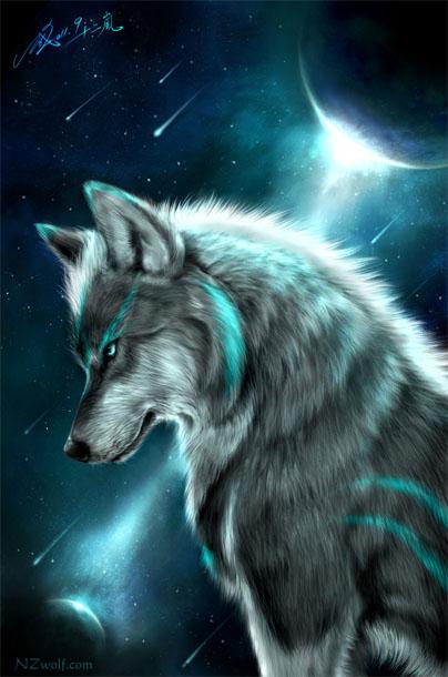 Красивые и прикольные картинки волка на аватарку - скачать бесплатно 7