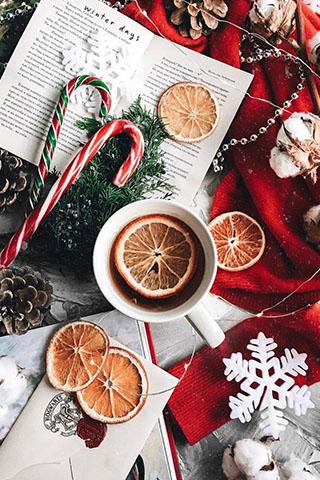 Новогодние картинки зимы на телефон - красивые и прикольные 7