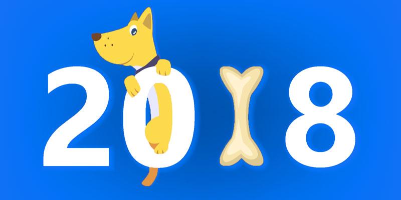 Прикольные Новогодние открытки 2018 - скачать бесплатно, подборка 3