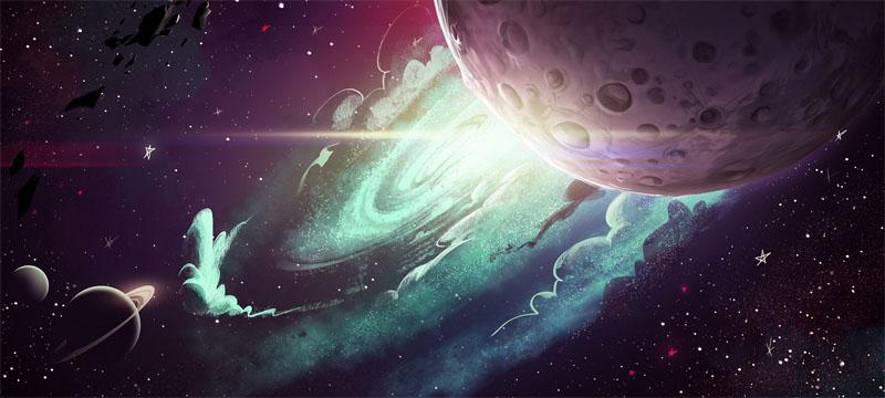 Прикольные и красивые картинки, изображения космоса - подборка 7