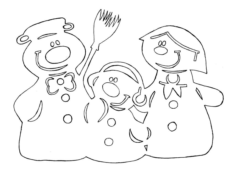 Шаблоны картинок на окна к новому году из бумаги - красивые и прикольные 12