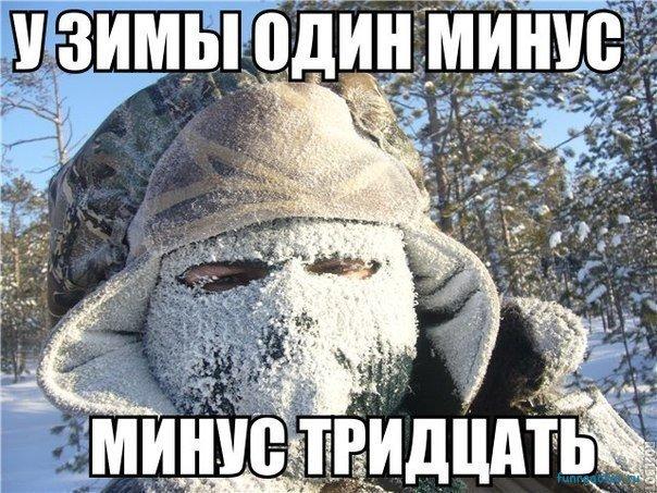 Веселые и смешные картинки про зиму и снег - забавная подборка №23 2
