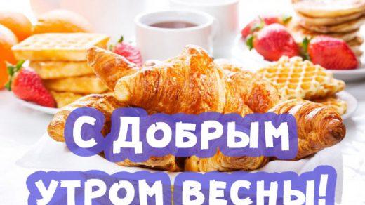 Доброе весеннее утро - красивые и прикольные картинки, открытки 10