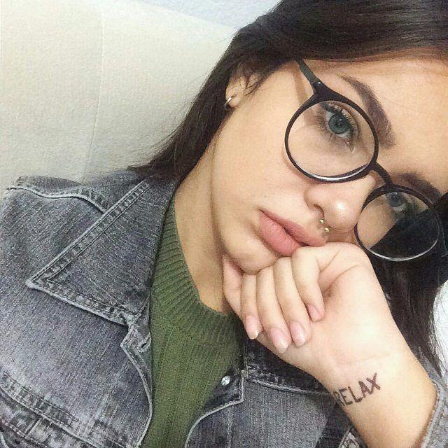 Картинки девушек в очках на аву - самые прикольные и красивые 11