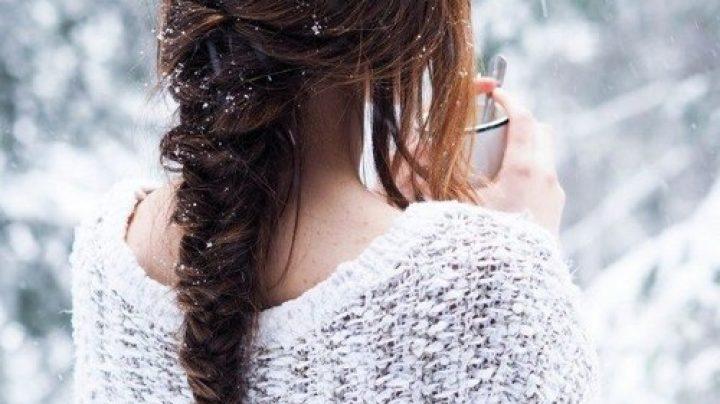 Картинки девушек на аву в контакт со спины зимой