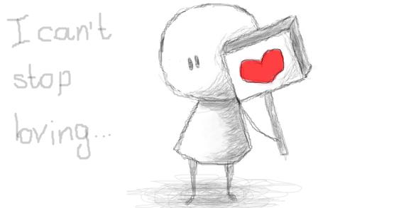 Картинки для срисовки про любовь - самые милые и прикольные 5