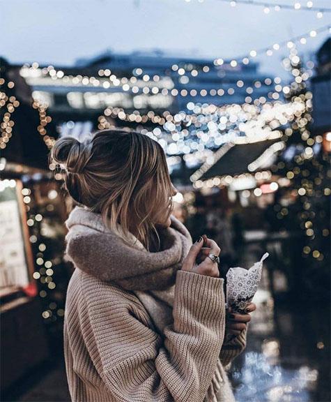 Картинки на аву зима для девушек и парней - скачать фотографии 7