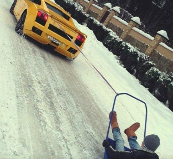 Картинки на аву зима для девушек и парней - скачать фотографии 9