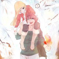 Комиксы про Нацу и Люси Fairy Tail - самые красивые и прикольные 19