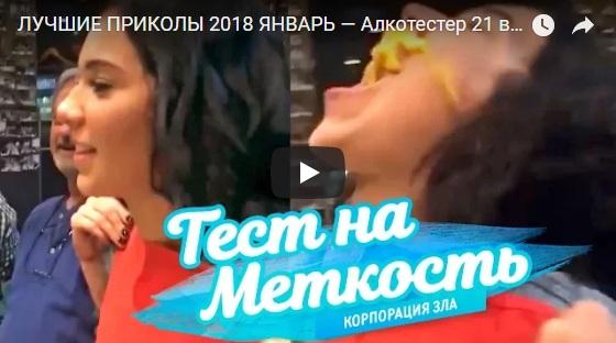 Комические и смешные видео приколы за январь 2018 - подборка №63