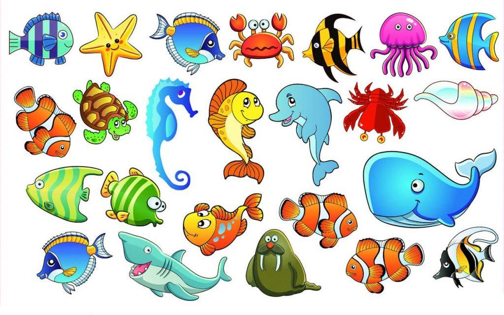 Красивые и прикольные картинки рыб для детей - лучшая подборка 13