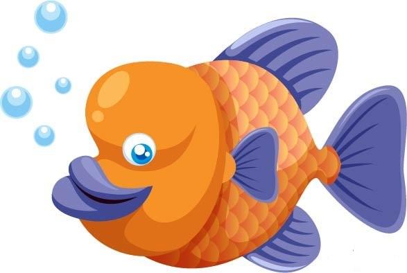 Красивые и прикольные картинки рыб для детей - лучшая подборка 2