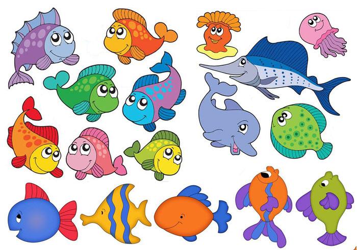 Красивые и прикольные картинки рыб для детей - лучшая подборка 6
