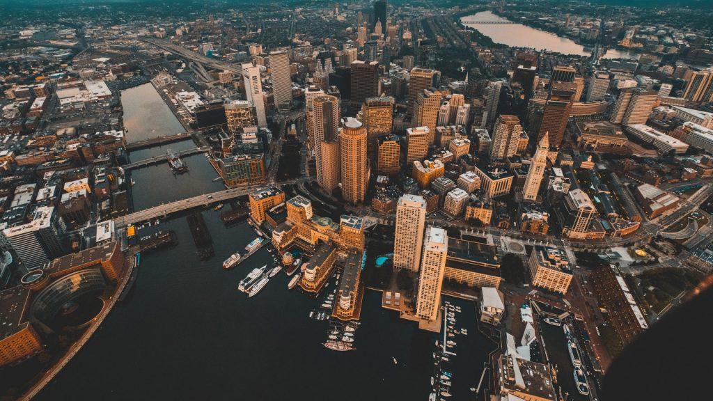 Красивые картинки городов и небоскребов на рабочий стол - подборка №2 3